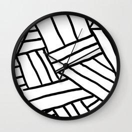 Raw Pattern Series: n.1 Wall Clock