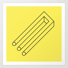 Impossible Object Art Print