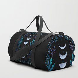 Moonlight Garden - Blue Duffle Bag