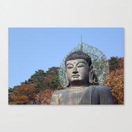 Autumn Buddha Canvas Print