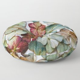Hydrangea Petals no. 1 Floor Pillow