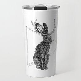 Jackalope - Spirit Animal Travel Mug