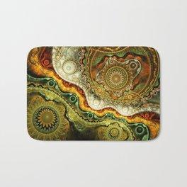 Autumn - Abstract Fractal Artwork Bath Mat