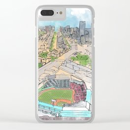 Fenway Park Clear iPhone Case