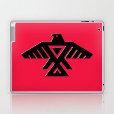 Animikii Thunderbird doodem on red - HQ image Laptop & iPad Skin