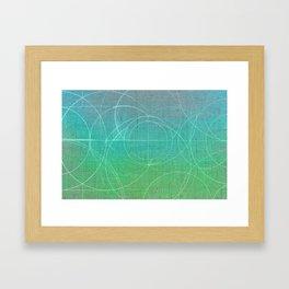 Aurea (Green Version) Framed Art Print