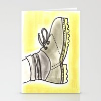 shoe Stationery Cards featuring shoe by yayanastasia