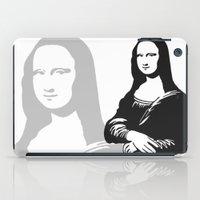 mona lisa iPad Cases featuring Mona Lisa by b & c