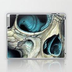 fin skull Laptop & iPad Skin