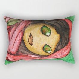 Afghan Toon Rectangular Pillow