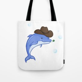 Lucky Dolphin Tote Bag
