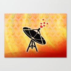 Love Antenna Canvas Print