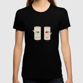 log on and log off T-shirt