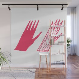 Hand and glove Wall Mural