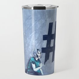 Grafitti # diese girl Travel Mug