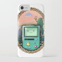 bmo iPhone & iPod Cases featuring BMO!! by SempiternalILLUSTRATIONS