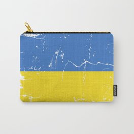 Ukraine flag Carry-All Pouch