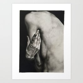 Hunched Art Print