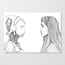 Reversibility Canvas Print
