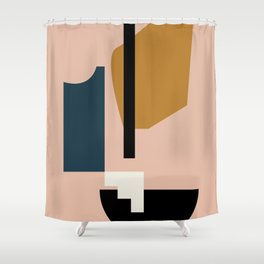 Shape study #2 - Lola Collection Shower Curtain