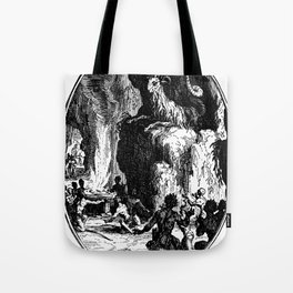 THE GOAT KING Tote Bag