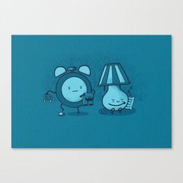 Alarm Sneak Canvas Print