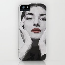 Geometric Callas iPhone Case