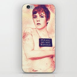 Lena Dunham Splashes iPhone Skin