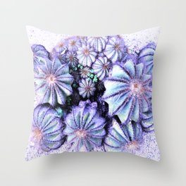 cactus circle Throw Pillow