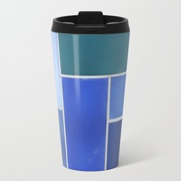A Story Told in Hues of Blue Travel Mug