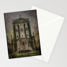 Haunted Manor House Stationery Cards