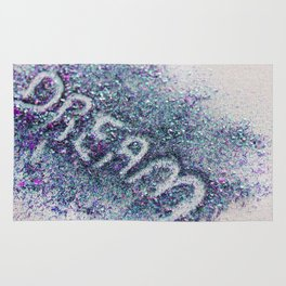 I Dream of Glitter Rug