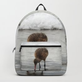 Marbled Godwit Reflections Backpack