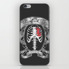 Heart in a Cage iPhone & iPod Skin