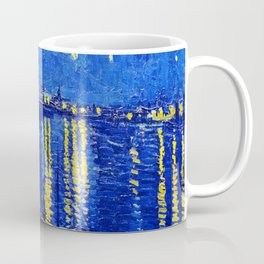 Starry Night Over Rhone Coffee Mug