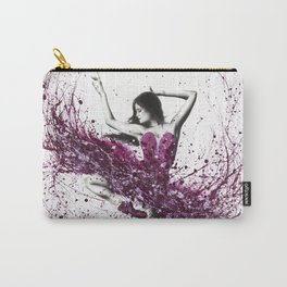 Royal Rubellite Ballerina Carry-All Pouch