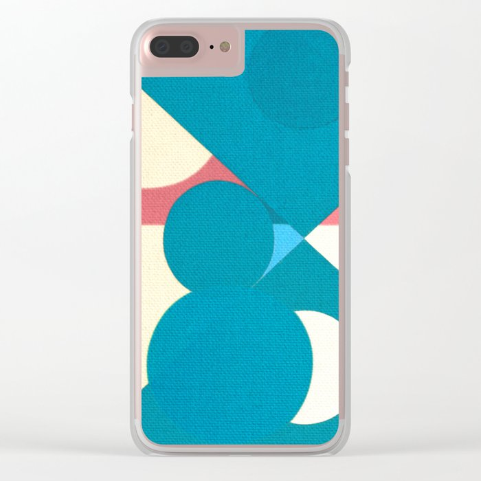 Frederick Hammersley 3 Clear iPhone Case