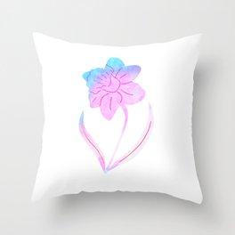 Spring Daffodil Throw Pillow
