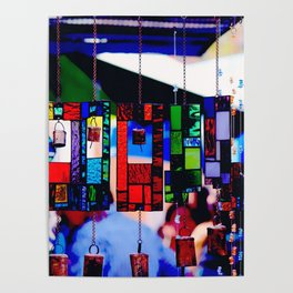 Glass Wind Chimes Poster