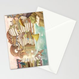 The Library Islands Stationery Cards