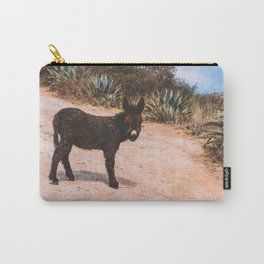 Donkey in Peru Carry-All Pouch