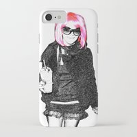 britney spears iPhone & iPod Cases featuring Britney Spears by KBK24