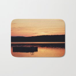 Dock at Dawn Bath Mat