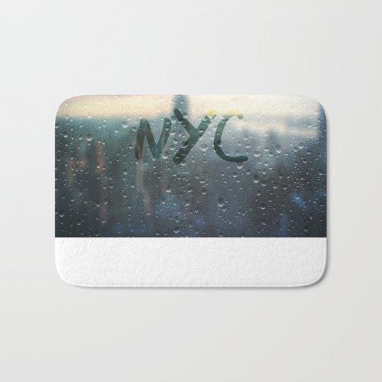 Rainy Day in NYC Bath Mat