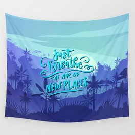Just breath Wall Tapestry