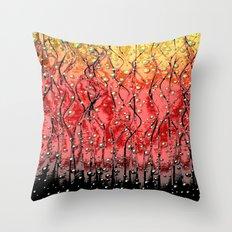 OXYGEN-8 Throw Pillow