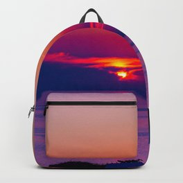 Oia  sunset Backpack