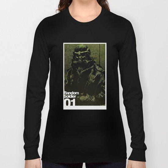Random Solider 01 Long Sleeve T-shirt