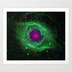 Universal Eye Art Print