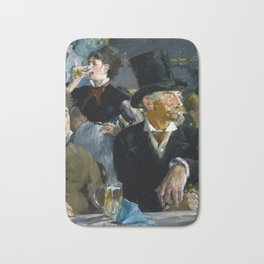 Édouard Manet - The Café-Concert Bath Mat